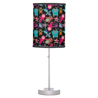 CUTE LITTLE MONSTERS TABLE LAMP DESIGN