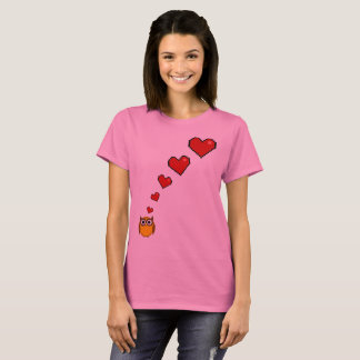 Cute Little Owl Has Just Found Love T-Shirt