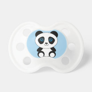 Cute Little Panda Bear Pacifier