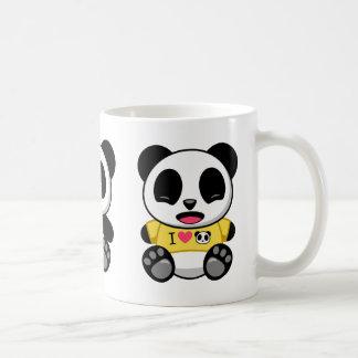 Cute Little Pandas Basic White Mug