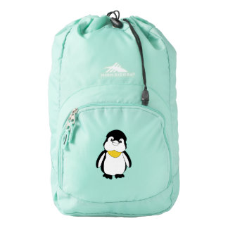 Cute Little Penguin Drawing Bag
