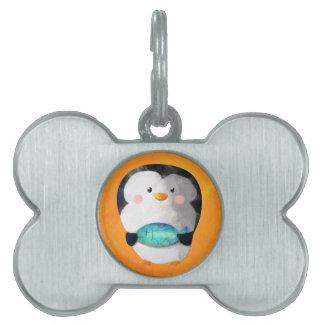 Cute Little Penguin Pet ID Tags