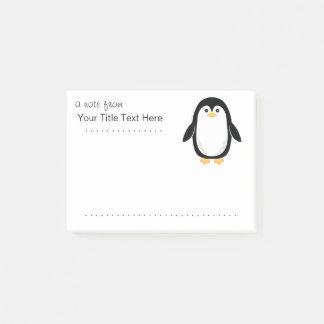 Cute Little Penguin Post-it Notes