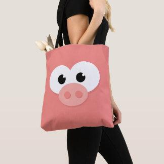 Cute Little Piggy Pig Pig. Tote Bag