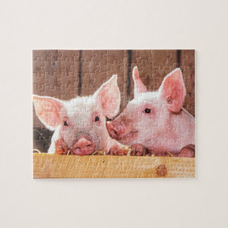 Cute Little Piglets Jigsaw Puzzle
