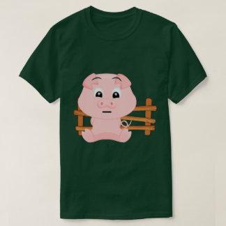 Cute Little Pink Piggy T-Shirt