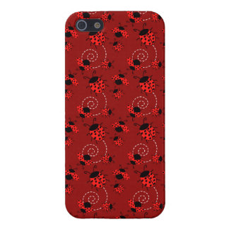 Cute Little Red Ladybugs iPhone 5/5S Case
