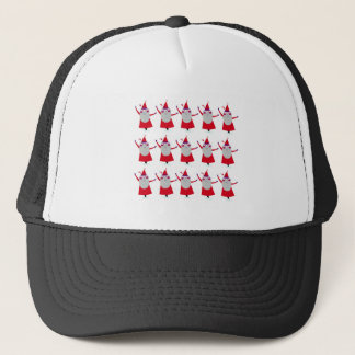 Cute little Santas Red Trucker Hat
