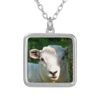 CUTE LITTLE SHEEP SILVER PLATED NECKLACE
