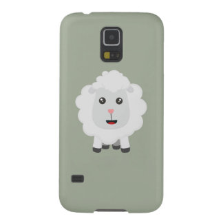 Cute little sheep Z9ny3 Galaxy S5 Cases
