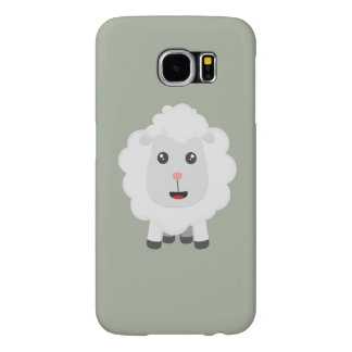 Cute little sheep Z9ny3 Samsung Galaxy S6 Cases
