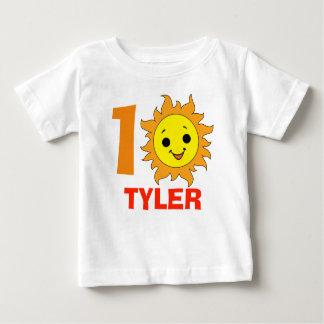 Cute Little Sun, 1st summer vacation Baby T-Shirt