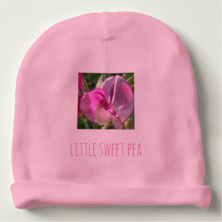 Cute little sweet pea baby's beanie hat baby beanie