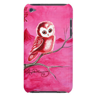 Cute Little Thoughtful Owl iPod Touch Cases