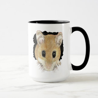 Cute Little Watercolor Pet Pocket Mouse Animal Art Mug