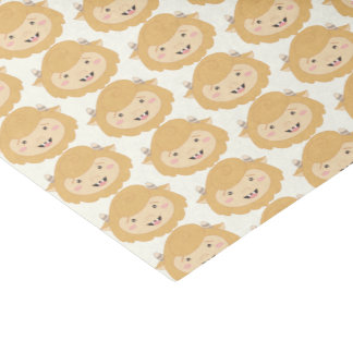 Cute Little Yellow Monsters Tissue Paper