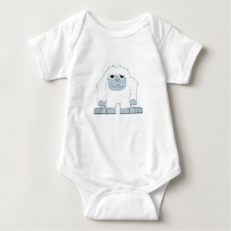 Cute Little Yeti Baby Bodysuit