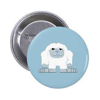 Cute little Yeti Button