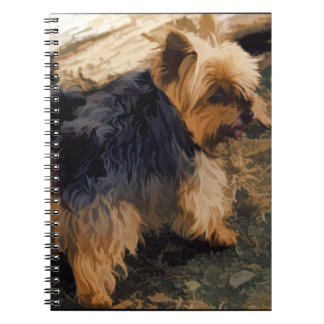 Cute Little Yorkie   - Yorkshire Terrier Dog Note Book