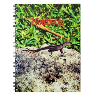 Cute Lizard Spiral Notebook