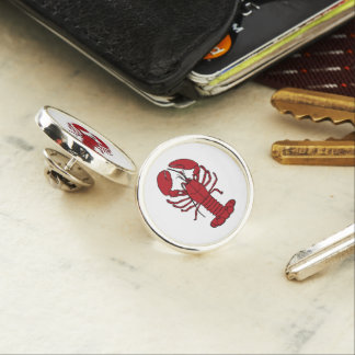 Cute Lobster Nautical beach  lapel pin