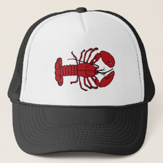 Cute Lobster Nautical beach trucker hat