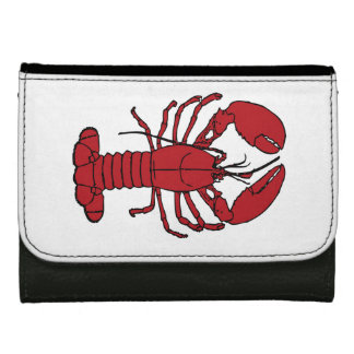 Cute Lobster Nautical beach Wallet