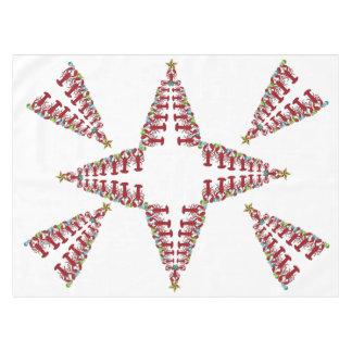 Cute Lobster Nautical  Christmas tablecloth