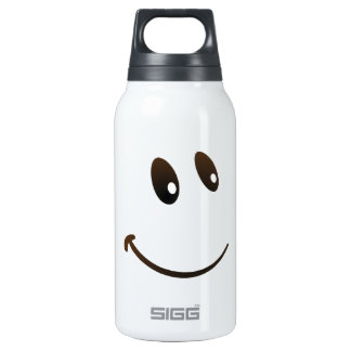 Cute Looking at you Emoji Insulated Water Bottle