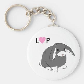 Cute Lop Rabbit Keychain