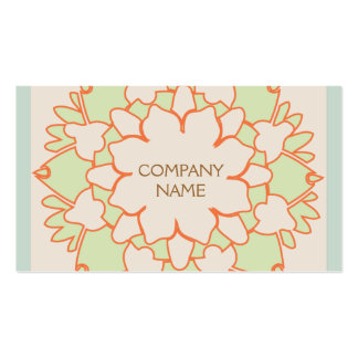 Cute Lotus Natural Holistic Health and Beauty Pack Of Standard Business Cards