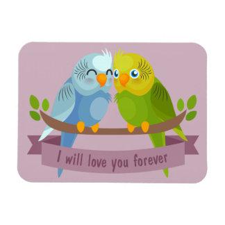 Cute Love Birds magnet