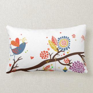 cute love birds pillow case