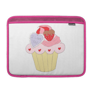 Cute Love Cupcake Sleeve For MacBook Air