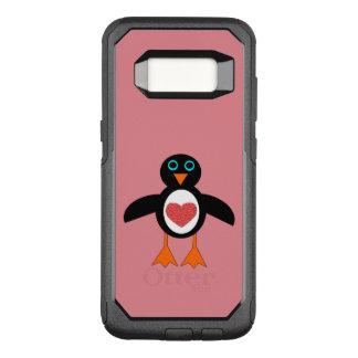 Cute Love Heart Penguin Phone Case