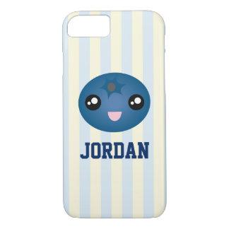Cute Love You Berry Much Cartoon Blue Berry iPhone 8/7 Case