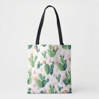 Cute Lovely Cactus Succulent Bag
