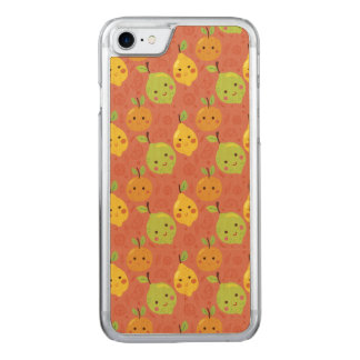 Cute Lovely Cartoon Orange, Lemon and Lime Carved iPhone 8/7 Case
