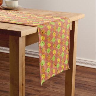 Cute Lovely Cartoon Orange, Lemon and Lime Short Table Runner