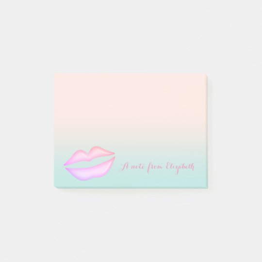 Cute Lovely  Stylish Elegant  ,Lips Post-it Notes