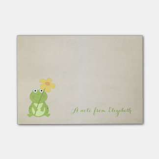 Cute Lovely  Stylish ,Frog Post-it Notes