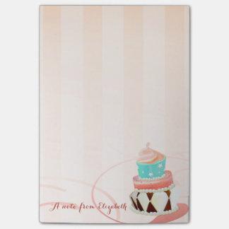 Cute Lovely  Stylish Girly , Cake Post-it Notes