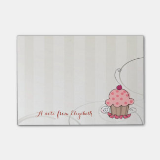 Cute Lovely  Stylish Girly , Cupcake Post-it Notes
