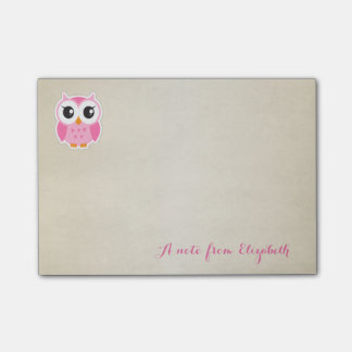 Cute Lovely  Stylish Girly  ,Owl Post-it Notes