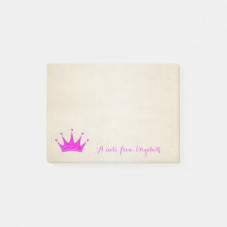 Cute Lovely  Stylish ,Glittery Tiara Post-it® Notes