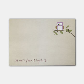 Cute Lovely  Stylish ,Owl Post-it Notes