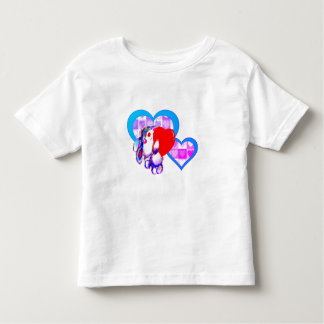 CUTE LOVING BUNNY FOR TODDLER T SHIRT