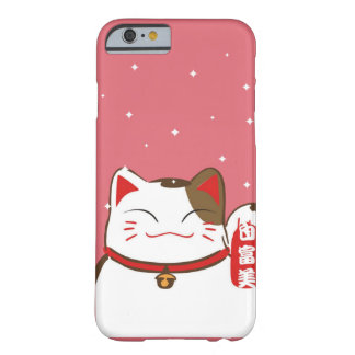 Cute Lucky Cat Pattern for Iphone Barely There iPhone 6 Case