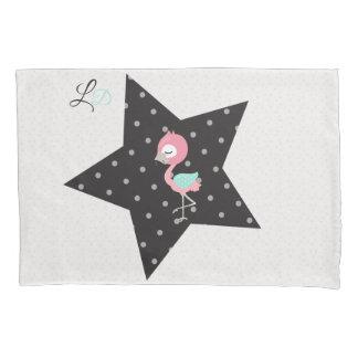 Cute Lullaby Dream Laugh Decor Neutral Flamingo Pillowcase