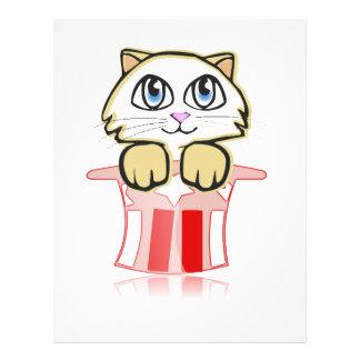 cute magic cate letterhead